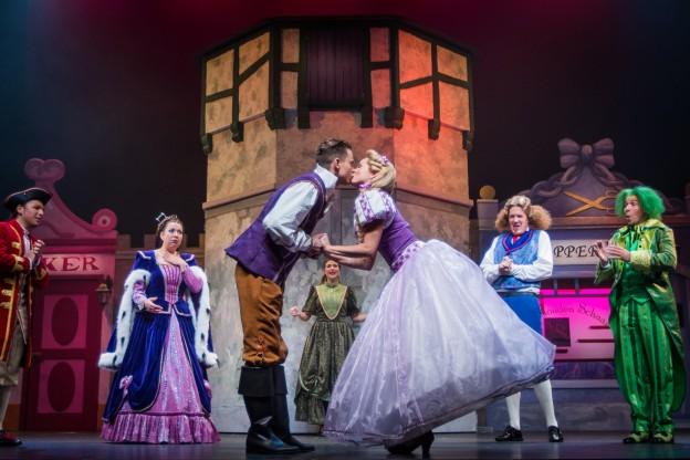 ETTEN-LEUR - In Theater de Nieuwe Nobelaer is de try-out geweest van de nieuwe musical 'Rapunzel' van Van Hoorne Entertainment. FOTO LEVIN DEN BOER - KWALITEITFOTO.NL