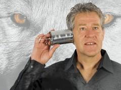 Peter Heerschop met 'Van Horen Zeggen' foto: Joris van Bennekom,